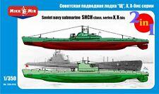 "Micro-Mir #350-010, 1/350, Soviet submarines ""Shch"" class (2 kits in the box)"