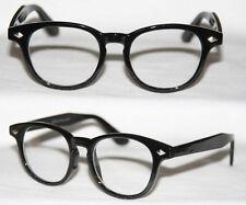 Nerd gafas nuevas redonda style geek glasses cristal claro gafas de sol elección de color 333