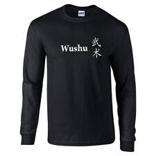 Wushu Chinese Fighting  Martial Art Combat Long Sleeve T-Shirt