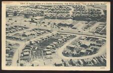 Postcard OAK RIDGE,Tennessee/TN   Trailer Park Bird's Eye Aerial view 1940's