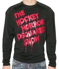 bb12311 Dsquared2 maglia nero uomo men's black sweater
