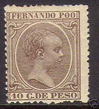 Fernando Poo #17 Mint