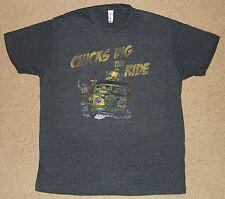 Teenage Mutant Ninja Turtles Chicks Dig The Ride Shirt M-2XL Licensed