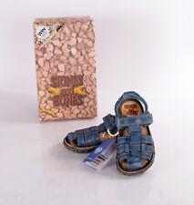 "Stones and Bones ""Natan"" Kinderschuhe Sandalen sandals Leder NEU & OVP blau"