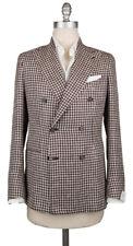 New $3000 Luigi Borrelli Brown Silk Blend Sportcoat - (LBSPTC163161)