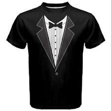 Tuxedo Shirt Funny Special Event Staff Men's T-Shirt Tees TX1