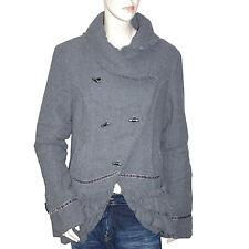 LOLA ESPELETA veste lainage grise femme taille 4 ( taille L )