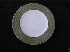 Woolrich Summerstone Falls Horizon Green Ringed Rim White Speckled Salad Plate
