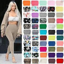 New Womens Plain Printed Boobtube Strapless Elastic Bandeau Vest Bra Crop Top