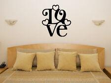 Love - PAROLA TESTO citazione MOTTO con scritte ARTE decalcomania FOTO POSTER