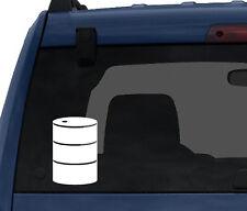 Industry #1 - Drum Barrel Roll Chemical Oil Gas Guzzler- Car Tablet Vinyl Decal