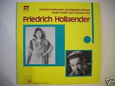FRIEDRICH HOLLAENDER & EBINGER SINGEN CHANSONS (L1598)