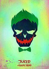 Suicide Squad Film Posters  - Joker - Option 3 - A3 & A4