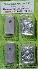 30x Messer & 30 Schrauben  HUSQVARNA Automower 220AC 230ACX 305 308 320 330X BA2