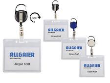 Ausweishülle mit Ausweisjojo Skipasshalter drehbar JOJO Kartenhalter Zipper