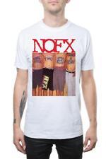Authentic NOFX White Trash Album Cover T-Shirt White S M L XL NEW