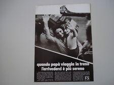 advertising Pubblicità 1971 FS FERROVIE DELLO STATO