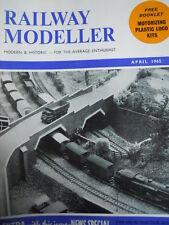 Railway Modeller 4 1965 Railway Longacre modernized