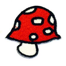 Kinder Aufnäher Pilz Glückspilz Patch Aufbügler patch062