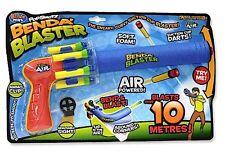 Britz Zing Air Pop Shots Shotz Benda Blaster - Indoor Outdoor Fun - 4 Foam Darts