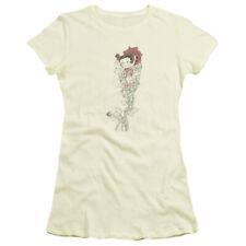 Boop/Thorns(Left Side Print)   S/S Junior Sheer   Cream     Bb512