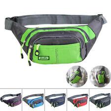 Men's Waterproof Waist Belt Pack Phone Case Pouch Bag Camping Hiking Pouch X1