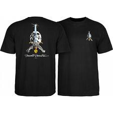 Powell Peralta Skateboard Shirt Skull & Sword Black