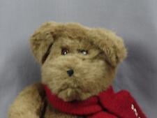 2001 RALPH LAUREN POLO RED SCARF PLUSH LOVEY TEDDY BEAR WINTER STUFFED ANIMAL