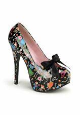Pinup Couture TEEZE-12-4 5 3/4'' Heel, 1 3/4'' Hidden Platform Pump W Satin Bow