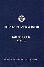 BMW Reparaturanleitung / Werkstatthandbuch Oldtimer R 51 /2 : R51/2 ; R 51/2 neu