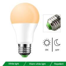 E27 10W Dusk to Dawn Automatic On&Off LED Sensor Light Bulb for Courtyard Wall
