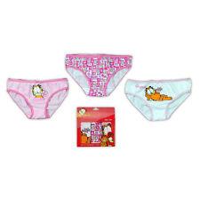 Unterwäsche Kinder Slip Schlüpfer Garfield 3er Pack 104-110 116-122 128-134 #178