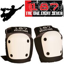 "187 Killer ""Fly"" Pro Protection Knee Pads Roller Skate Skateboard Bike Guards"