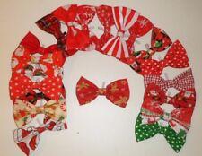 Corbata de Moño Navidad Colores Para Perro resbalón en el cuello