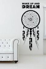 Dreamcatcher Svegliati e sogno di ispirazione Muro Sticker Arte Trasferimento rimovibile