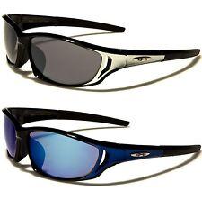 New X-loop Sunglasses Ladies Mens Boys Black Designer Sports Large Wrap UV400