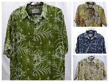Mens Margaritaville Hawaiian Button Down Shirt (Assorted Colors) Size L,XL