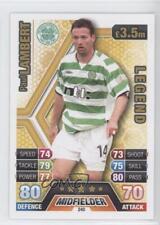 2013 2013-14 Topps Match Attax Scottish Premiership #240 Paul Lambert Celtic FC