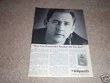 Klipsch Heresy II Speaker Ad from 1988, nice! #2