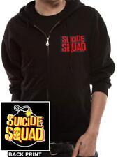 Licencia Oficial-Escuadrón de suicidio-bomba Logo Con Capucha Sudadera Con Capucha Harley
