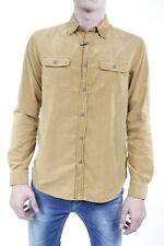 Camicia Armani Jeans AJ Shirt -60% Uomo Marrone Z6C02DP-37 SALDI