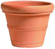 Vaso Campana in Resina per piante da giardino terrazzo NO PLASTICA NO TERRACOTTA