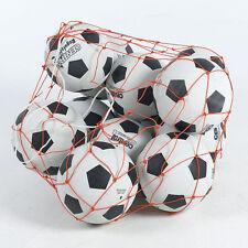 FOOTBALL BASKETBALL STORAGE BAG DRAW CORD MESH SACK BALL CARRY NET ONLY UK