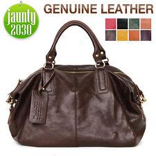 New Extra Large PREMIUM VEGETABLE CALFSKIN Handbag Totes Shoulder Bag WB1217