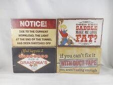 Highland Graphics Box Sign - Assorted Sayings