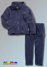 Playshoes Kinder Fleece Jacke und Hose lang Farbe marine Größen 80 - 140 im Set