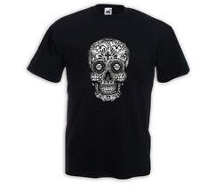 Mexican T-Shirt Mariachi 4 Sugar Skull Rockabilly Dia de los Muertos