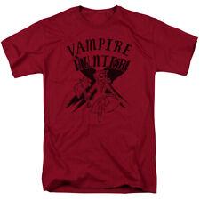 Adventure Time Vampire Hunter Licensed Adult T Shirt