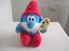 "11"" Nanco Plush The Smurfs PAPA SMURF Plush Doll"