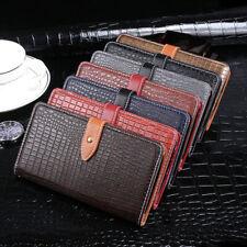 Crocodile pochette à rabat en cuir Housse/étui de protection pour Téléphone Portable Case Cover Pour Gigaset